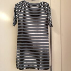 Loft Lou & Grey Striped Dress XS NWOT